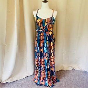 Anthropologie Maeve maxi dress size M,